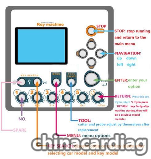 v8-x6-key-cutting-machine-cut-TOY48-key-blank-2