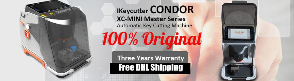 condor xc mini key cutting machine