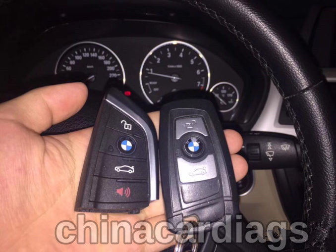 Steps to use CGDI PRO to make key on BMW 3 series FEM system