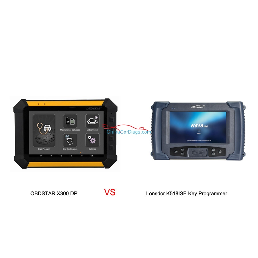 Which one is better Lonsdor k518ISE or obdstar X300 DP (key master DP)?