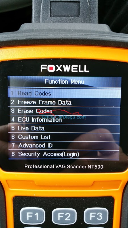 FOXWELL-NT510-Radio-Coding-2
