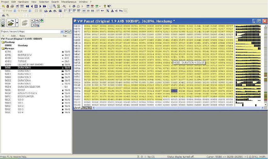 winols-find-maps-EDC15-Passat-10