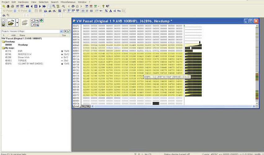 New Genius + Winols find VW Passat 1 9 pd 100 bhp maps