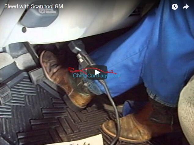 ABS Bleed: using Tech II or VXDIAG VCX NANO GM