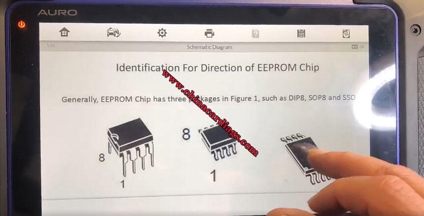 Auro-OtoSys-IM600-Chip-M95040-Schematic-Diagram-14