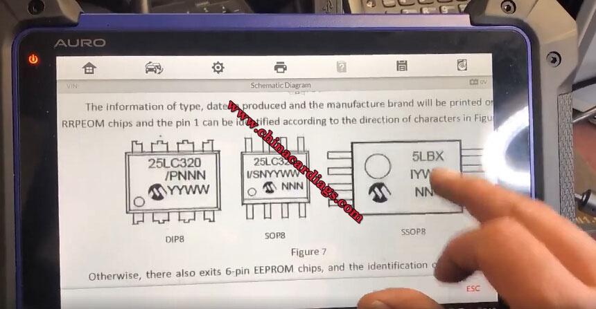 Auro-OtoSys-IM600-Chip-M95040-Schematic-Diagram-22
