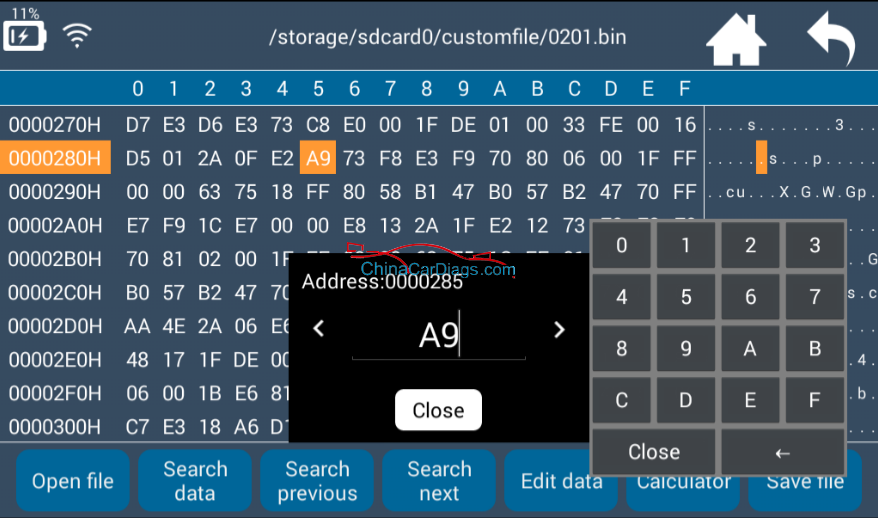 Lonsdor-K518ise-hex-editor-user-manual-13