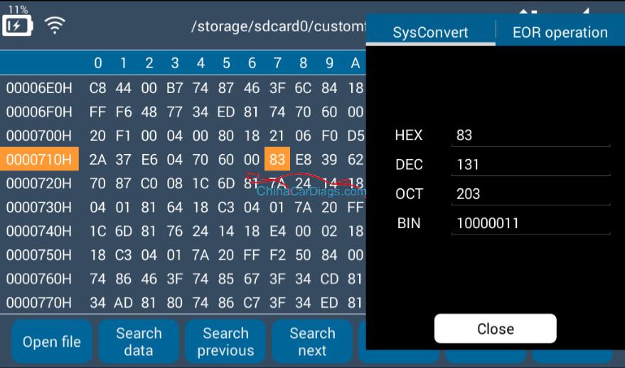 Lonsdor-K518ise-hex-editor-user-manual-16