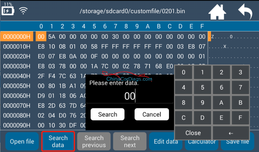 Lonsdor-K518ise-hex-editor-user-manual-9