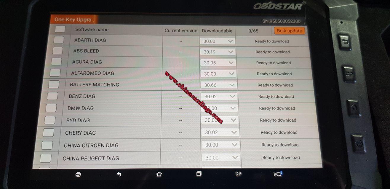 obdstar-x300-dp-update