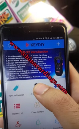 How to copy Suzuki ID46 chip with KD-X2 KEYDIY key tool