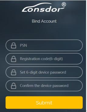 Bind-account