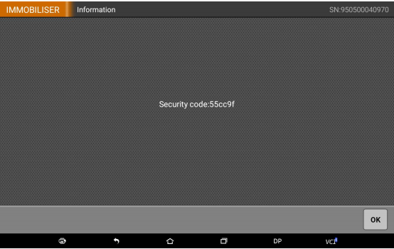 Read-the-security-code-successfully