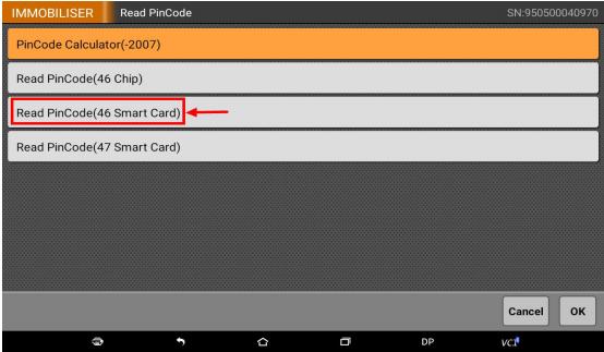 "Select-""Read-PinCode46-Smart-Card"""
