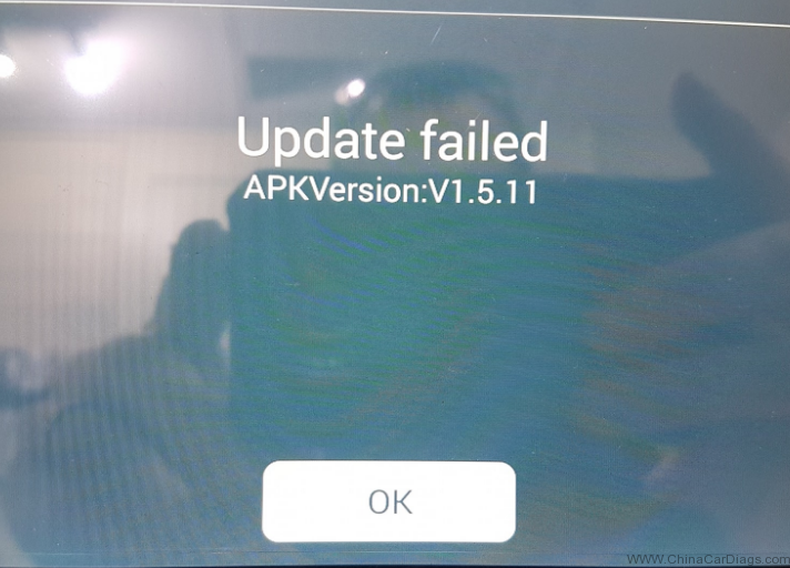 lonsdor-k518ise-update-failed