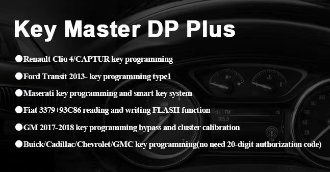 OBDSTAR X300 DP Plus New update (2018/12/7)