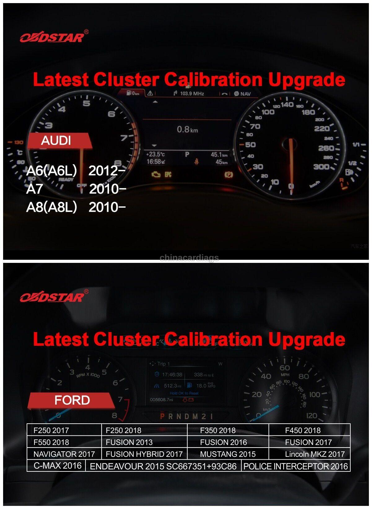 Latest-Cluster-Calibration-Upgrade-for-AUDI-And-Ford