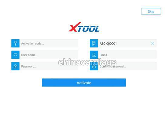xtool-a80-activation