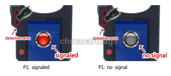 Detect-infrared-signal