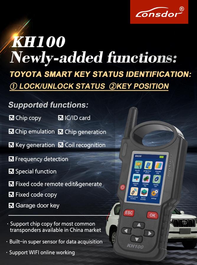 lonsdor-kh100-e-functions
