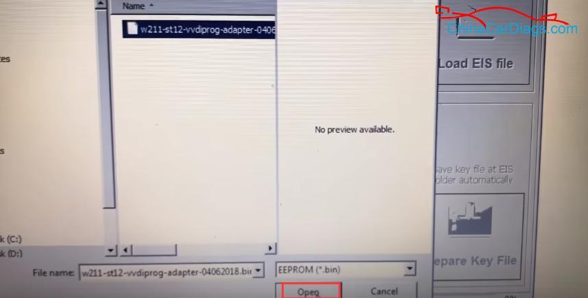 9-Vvdi-Prog-EZS-Adapter-MB-BGA-Tool-Program-Mercedes-W211