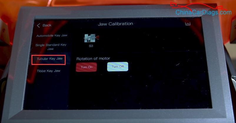 4-calibrate-S3-jaw-on-Alpha-