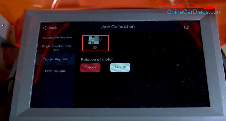 5-calibrate-S3-jaw-on-Alpha-