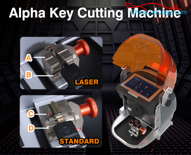 alpha-key-cutting-machine