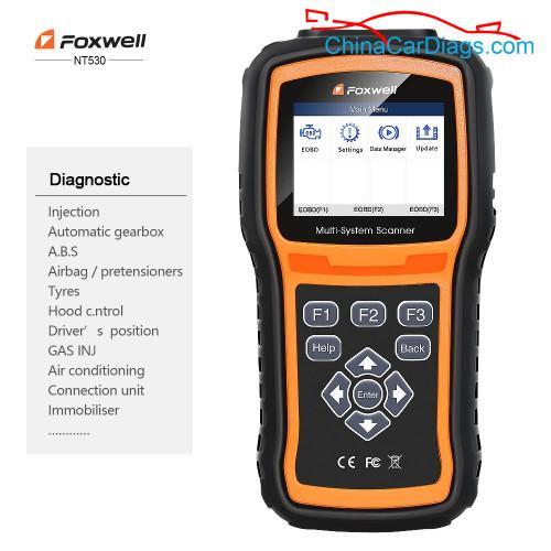 foxwell-nt530-car-list