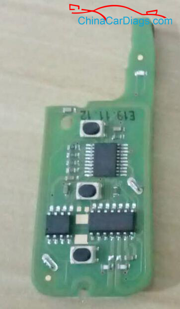 Wireless-remote-key-no-socket-on-the-circuit-board-nxp-chip-wireless-induction-generation-chip
