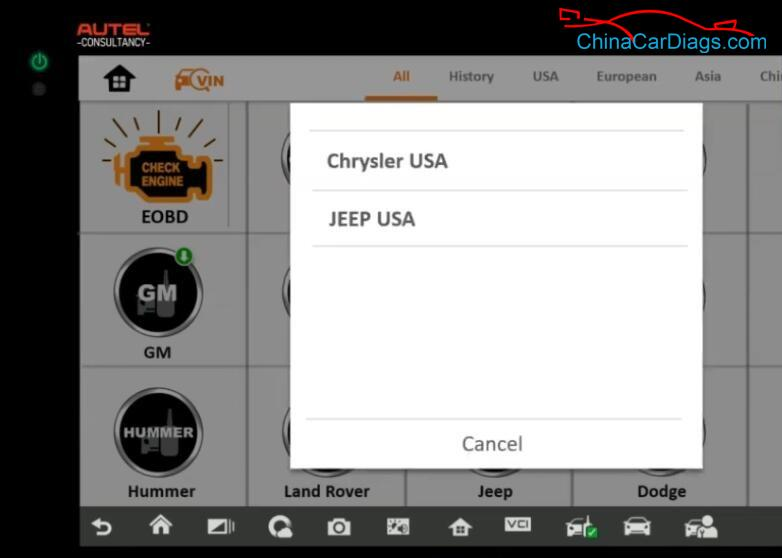 Chrysler-Town-2012-Used-PCM-Reprogramming-by-Autel-IM608-Programmer-15
