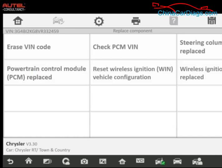 Chrysler-Town-2012-Used-PCM-Reprogramming-by-Autel-IM608-Programmer-9-1